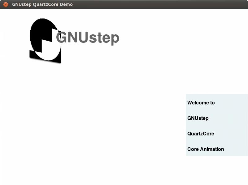 GNUstep QuartzCore